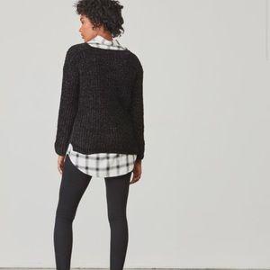 B.B. Dakota Cella Velour Sweater